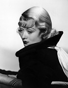 Bennett Framed Prints - After Office Hours, Constance Bennett Framed Print by Everett