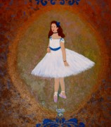The Ballet Painting Originals - After Renoir - The Dancer by Anke Wheeler