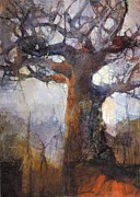 Baobab Paintings - After the Burn by Wendy Rosselli