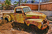 Chevy Pickup Prints - After The Hurricane Print by Garry Gay