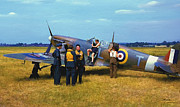 Spitfire Prints - After the Mission Print by Dale Jackson