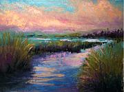 Sunset Pastels Posters - After the Rain Poster by Susan Jenkins
