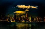 City Scape Metal Prints - After the Storm Metal Print by David Hahn