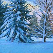 Winter Storm Pastels - After the Storm by Jill Stefani Wagner
