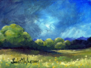 Llmartin Painting Prints - After The Storm Print by Linda L Martin