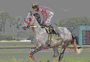 Horse Racing Art Prints - After the win Print by David Lee Thompson
