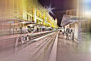 Tram Photos - After Work by Douglas Barnard