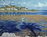 Island Painting Originals - Afternoon at the Reef by Danielle Perry