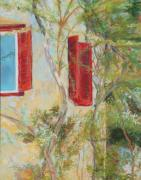 House Pastels - Afternoon in Athens by Mary Benke