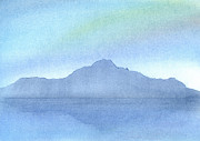 Calm Pastels Prints - Afternoon on the Water Print by Hakon Soreide