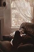 Moody Paintings - Afternoon Reverie by Katherine Howard