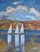 Fast Paintings - Afternoon Sailing by Kip Decker
