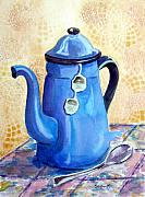 Teapot Painting Originals - Afternoon Tea by Marsha Elliott