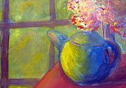 Teapot Paintings - Afternoon Tea by Rebecca Worters