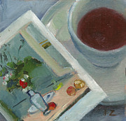 Teapot Paintings - Afternoon Tea Time no.30 by Ni Zhu