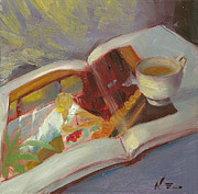 Copy Paintings - Afternoon Tea Time no.42 by Ni Zhu