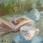 Teapot Paintings - Afternoon Tea Time no.45 by Ni Zhu