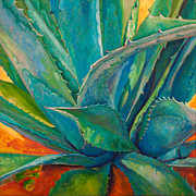 Agave Paintings - Against the Grain by Athena  Mantle