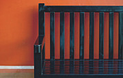 Chair Framed Prints - Against The Wall Framed Print by Dan Holm