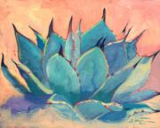 Southwestern Art Prints - Agave 2 Print by Athena  Mantle