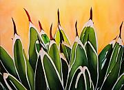 Victoria Painting Originals - Agave Reina Victoria by Maribel Garzon