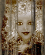 Curtains Mixed Media Posters - Age Becomes Her V Poster by Patricia Motley