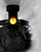 Locomotive Metal Prints - Age of Steam No. 2 Metal Print by Joe Bonita