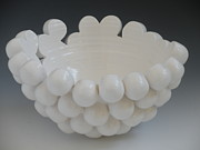 3-d Ceramics - Aggregation Vessel by Katherine Dube