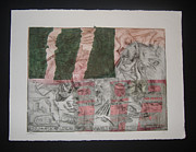 Financial Mixed Media - AGI Negative Positive by John  Schwind