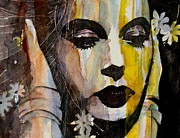 Lips  Painting Prints - Agony and Ecstasy Print by Paul Lovering