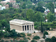 Athens Prints - Agora Print by David Bearden