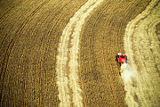 Combine Photos - Agricultural Harvesting Maize by Marcos Alves
