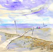 Travel Sketch Drawings - Agua Amarga 03 by Miki De Goodaboom