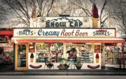 Hot Dogs Prints - Ah - Such Sweet Memories Print by Sandra Bronstein