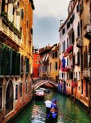 Venice Digital Art - Ahh Venezia by Lois Bryan