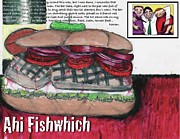 Billy Knows - Ahi Fishwich