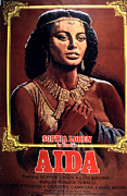 1950s Movies Framed Prints - Aida, Sophia Loren, 1953 Framed Print by Everett