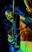 Van Halen Art - Aint Talkin Bout Cosmic Blue Love by Ben Upham