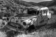 Rusted Cars Art - Air Conditioned By Bullet by Bob Christopher