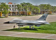 F-15 Prints - Air Force Academy Grounds Print by David Bearden