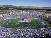 Air Force Print Art - Air Force Game Day at Falcon Stadium by Air Force Academy