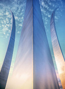 Usaf Photo Posters - Air Force Memorial Poster by JC Findley