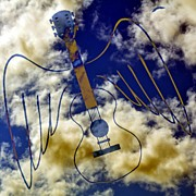 Music Art - Air Guitar by Daryl Macintyre