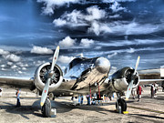 Airplane Metal Prints - Air HDR Metal Print by Arthur Herold Jr