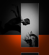 Dangerous Metal Prints - Air Kiss Metal Print by Irina  March