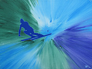 Ski Art Originals - Air by Lance Bifoss