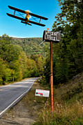 Mountain Art - Air Mail Delivery Maine Style by Bob Orsillo