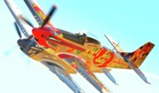 Race Digital Art Originals - Air Racing Reno Style by Gus McCrea