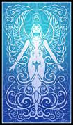  Hippie Digital Art Posters - Air Spirit Poster by Cristina McAllister