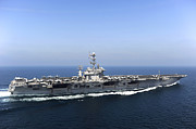 Operation Enduring Freedom Photos - Aircraft Carrier Uss John C. Stennis by Stocktrek Images